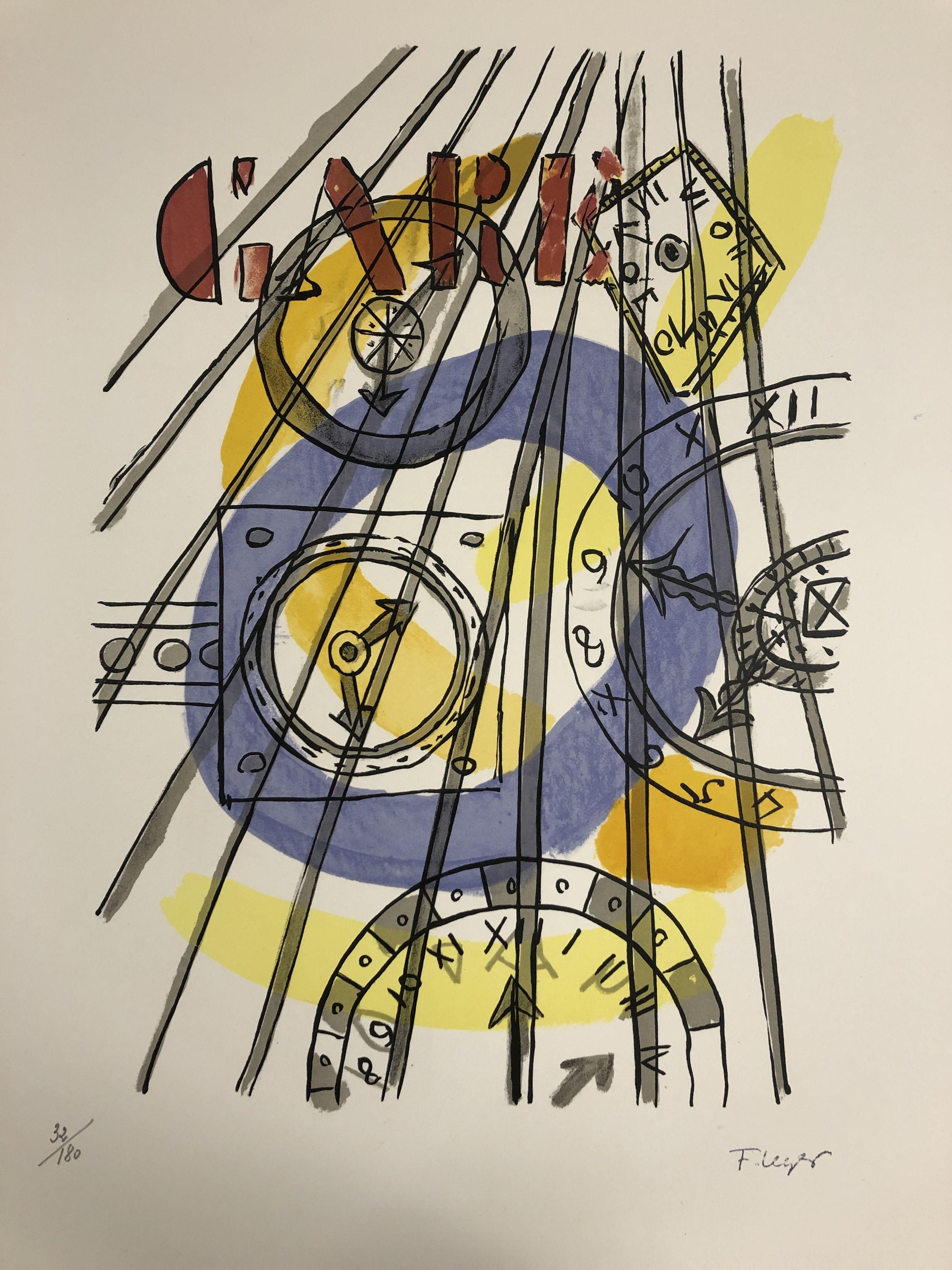 Fernand Leger - La Gare, 1959