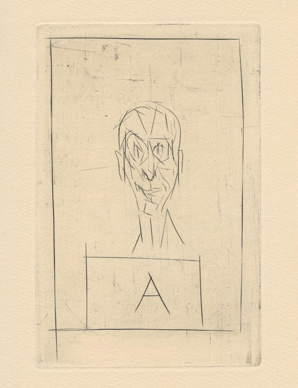 Alberto Giacometti - Histoire de rats II