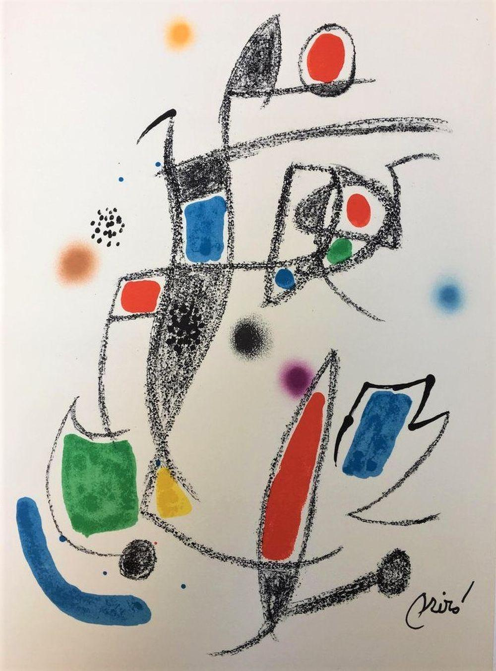 Joan Miro - Maravillas con Variaciones Acrósticas X, 1975