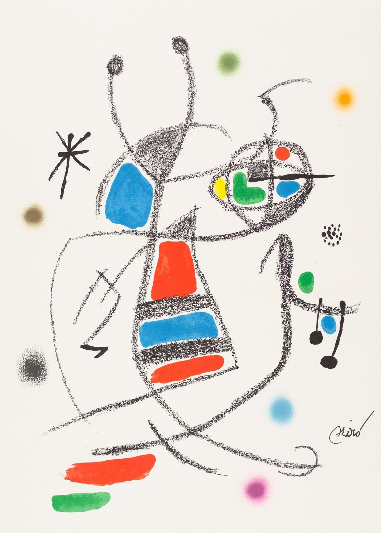 Joan Miro - Maravillas con Variaciones Acrósticas VIII, 1975