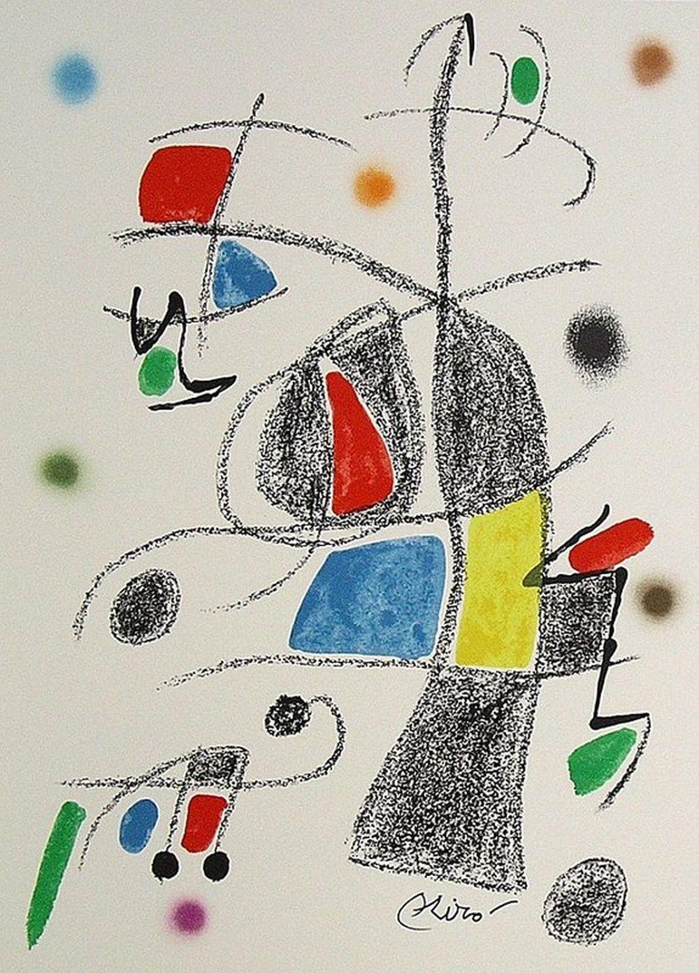 Joan Miro - Maravillas con Variaciones Acrósticas XVII, 1975
