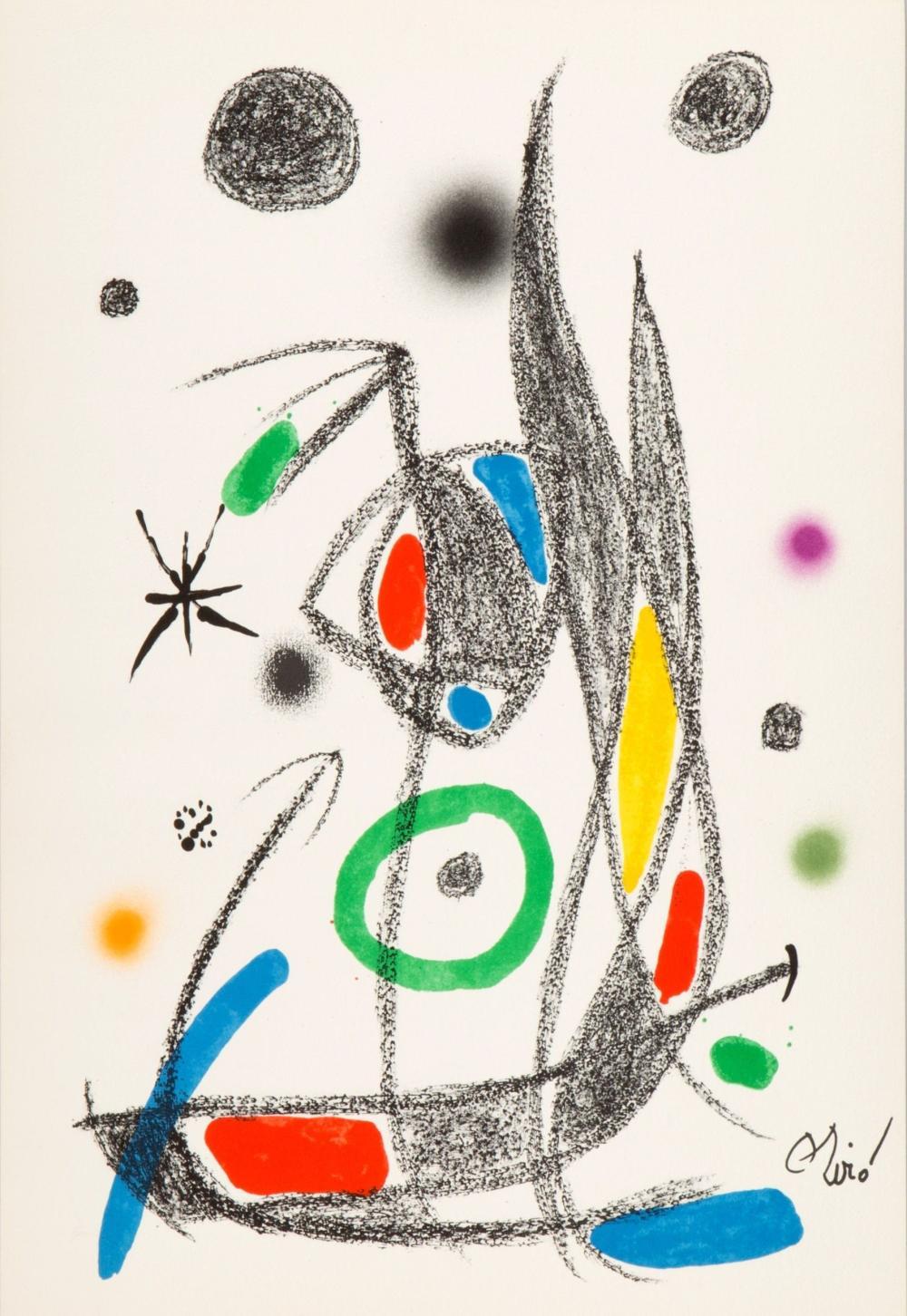 Joan Miro - Maravillas con Variaciones Acrósticas XIV, 1975