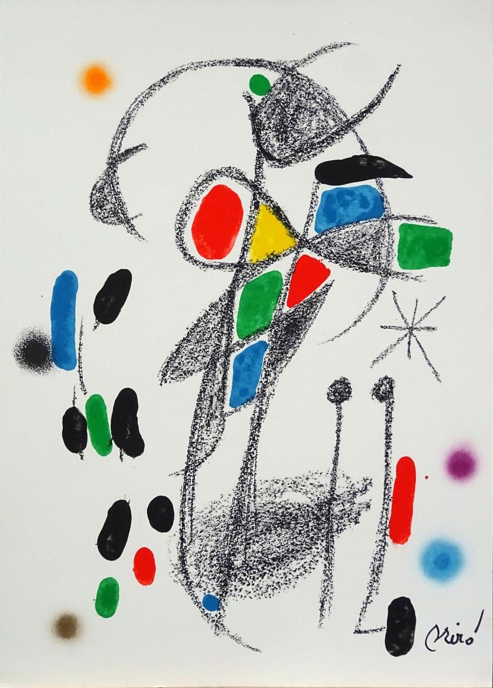 Joan Miro - Maravillas con Variaciones Acrósticas XVIII, 1975