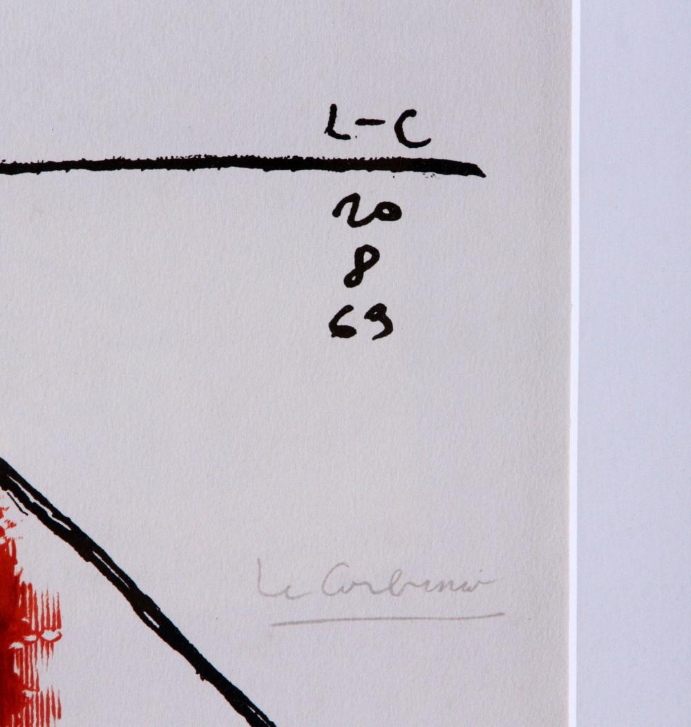 Le Corbusier - Taureau XVII, 1963