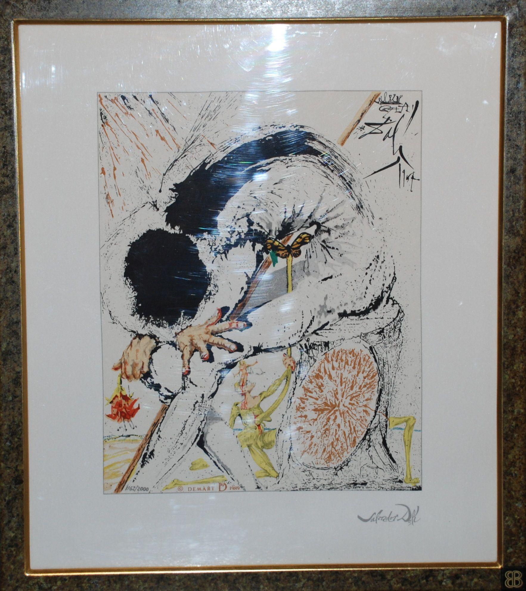 Salvador Dali (after) - Don Quichotte