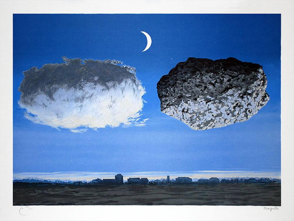 René Magritte - La Bataille de l'Argonne GM (The Battle of the Argonne)