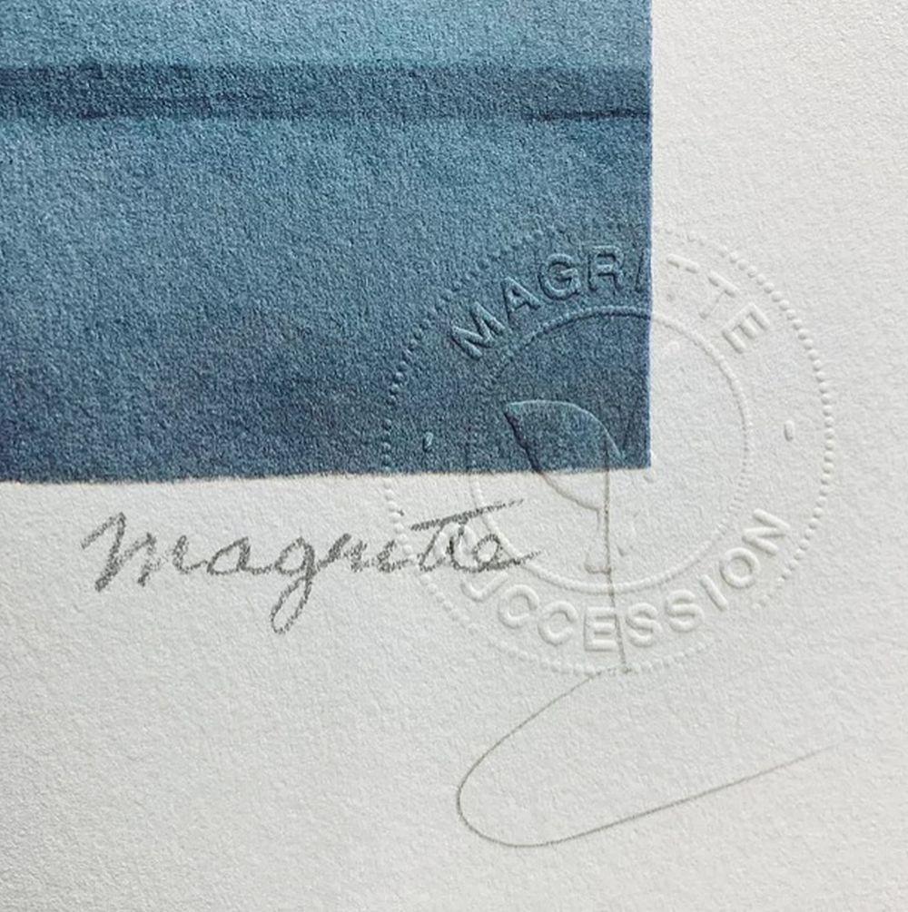 René Magritte - La Grande Guerre MM (The Great War)
