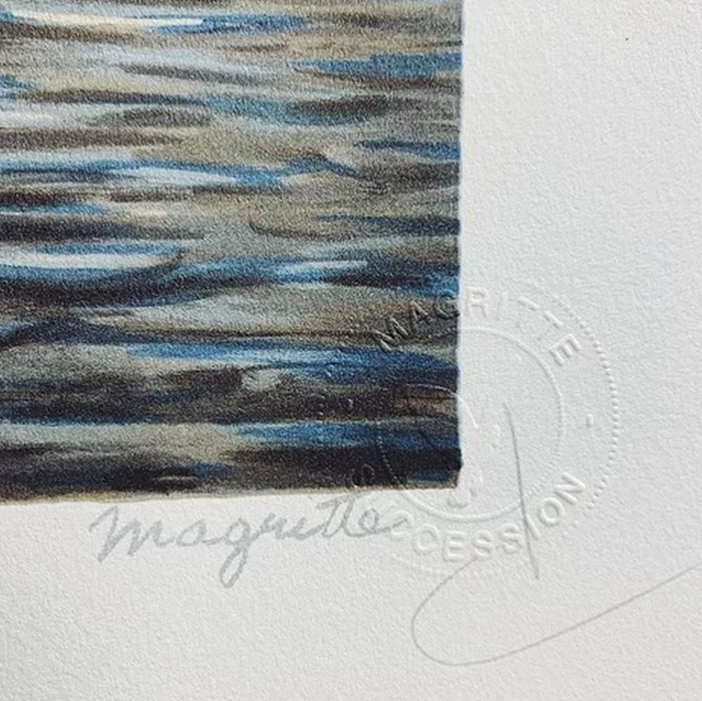 René Magritte - L'Art de la Conversation MM (The Art of Conversation)