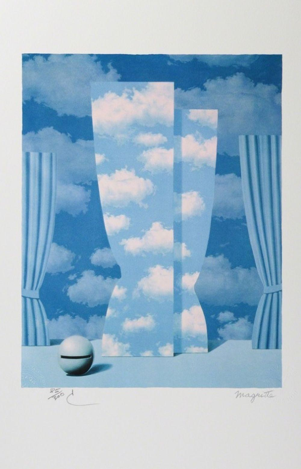 René Magritte - La Peine Perdue PM (The Wasted Effort)