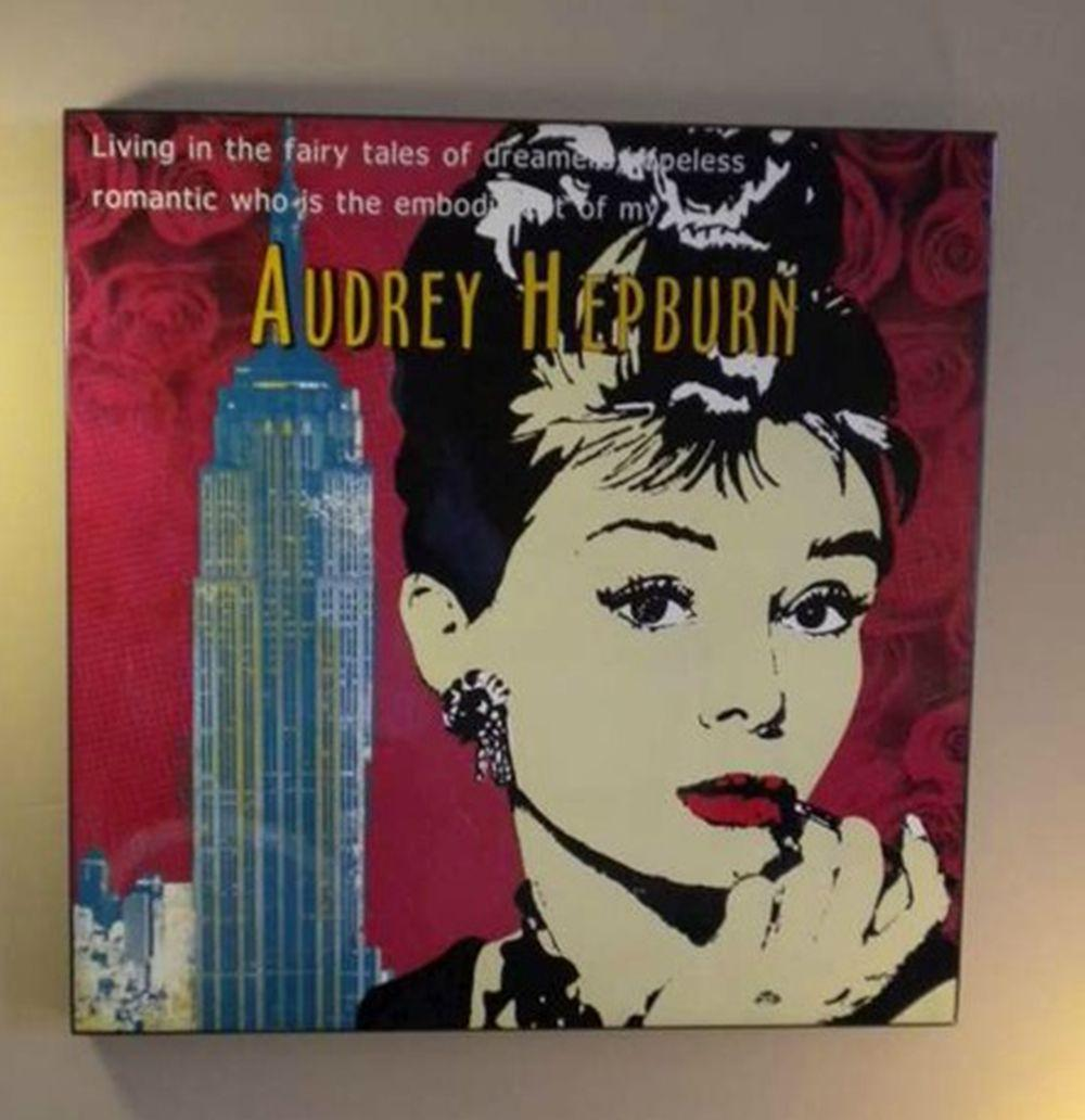 Tableau Glossy - Hepburn living in the fairy ...