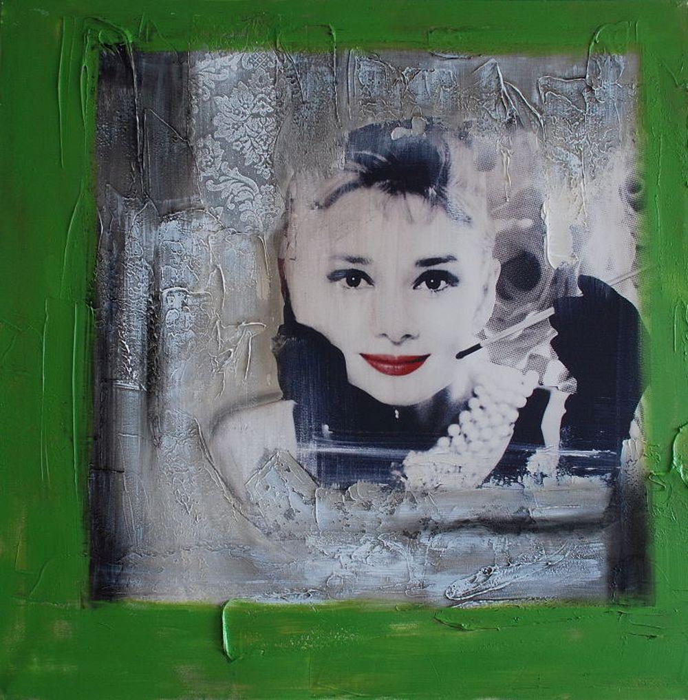 Tableau Deco - Audrey Hepburn