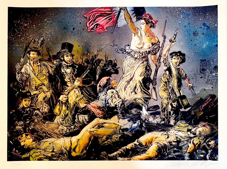 C215 (Christian Guemy) - Liberté guidant le peuple (XL), 2020