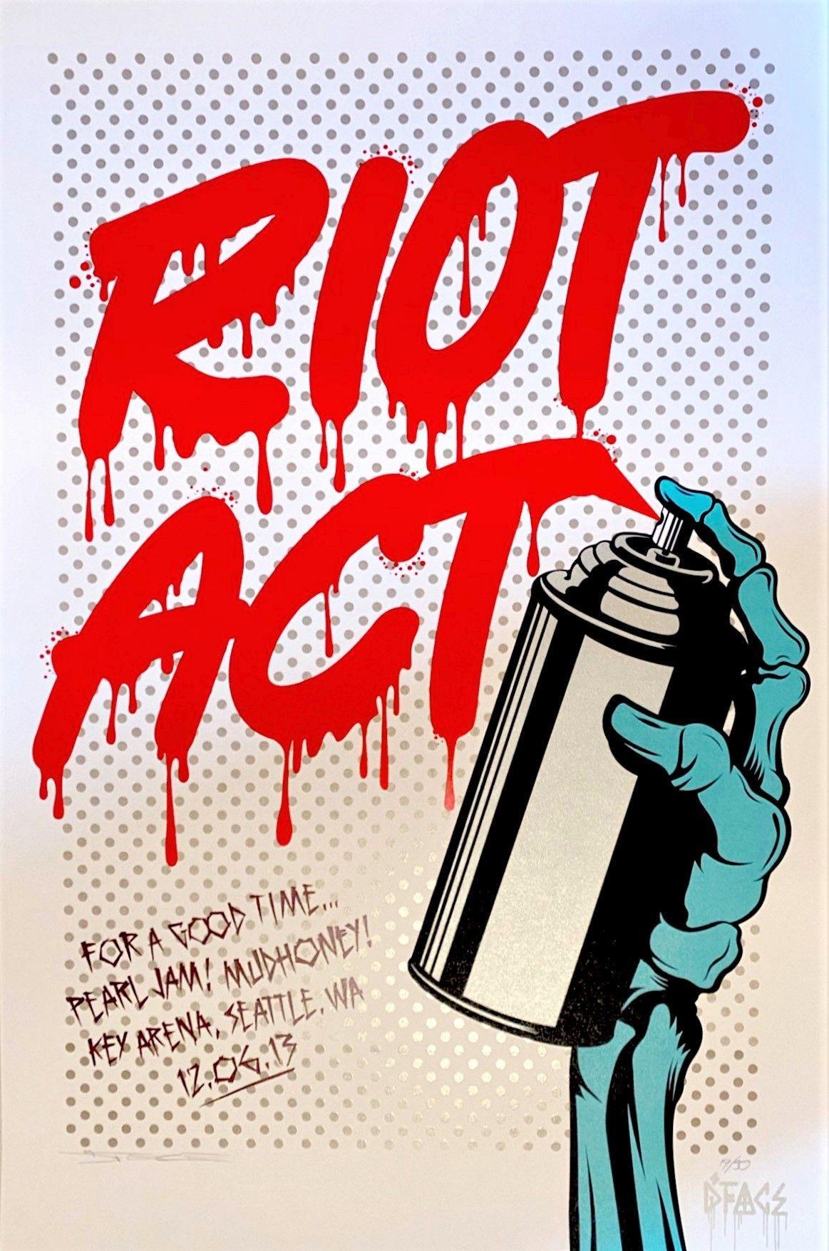 D*Face - Riot Act, 2020