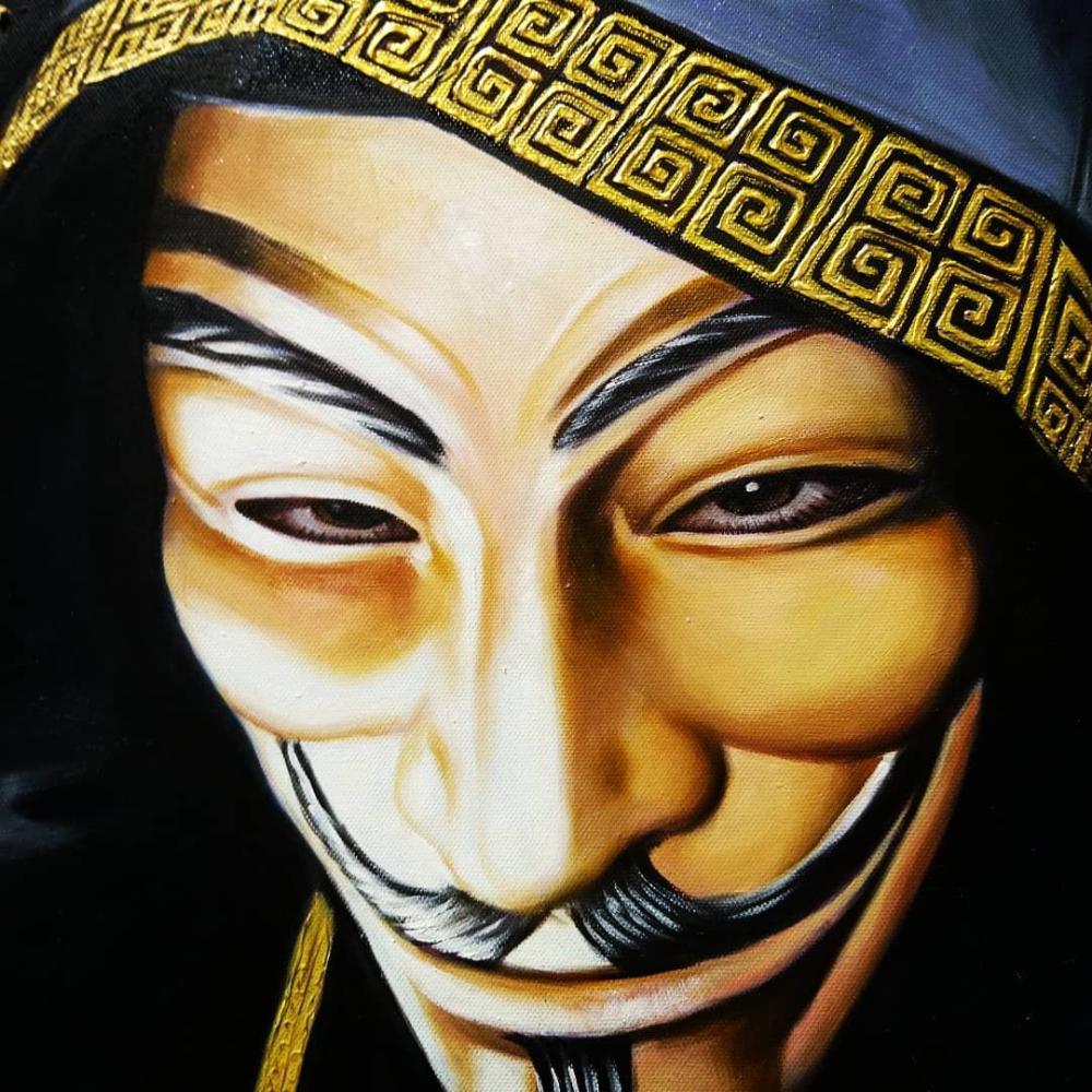 Ben Gulak - Power in Anonimity, 2018