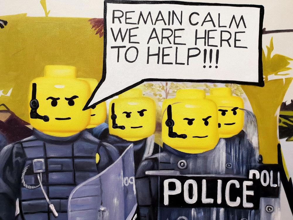 Ben Gulak - Remain Calm We Are Here to Help, 2018