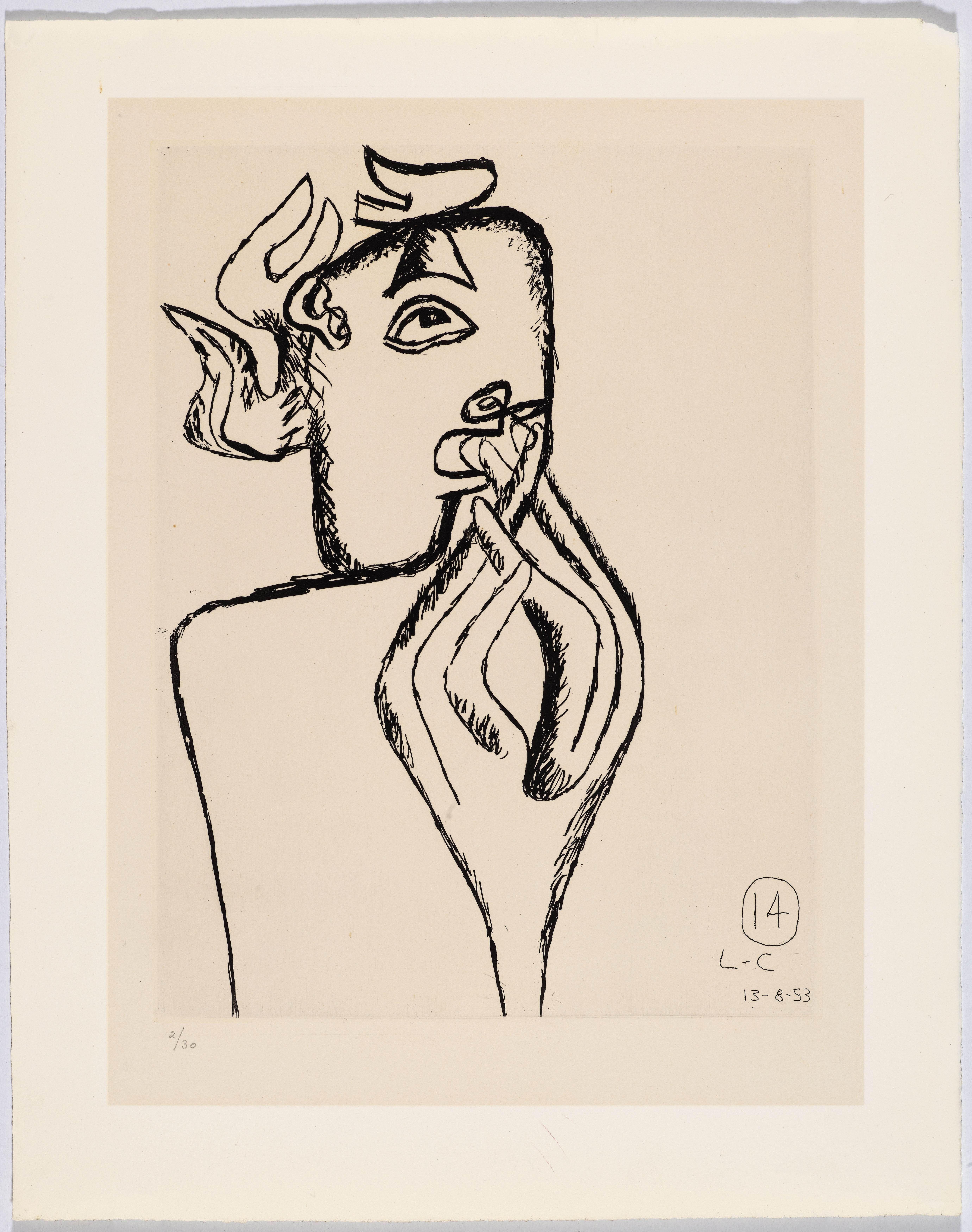 Le Corbusier - Unité. Plate 14, 1965