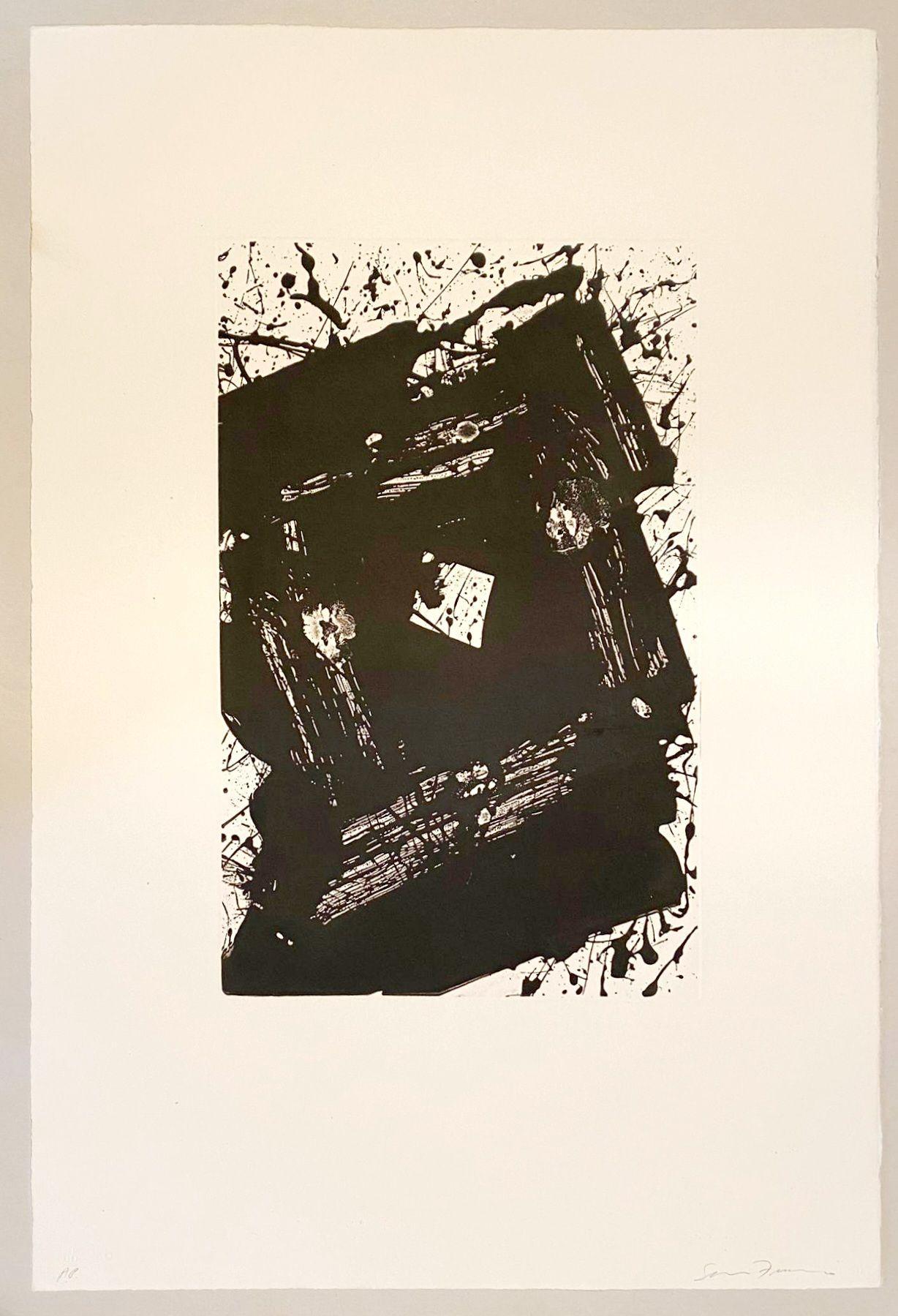 Sam Francis - Untitled, 1981