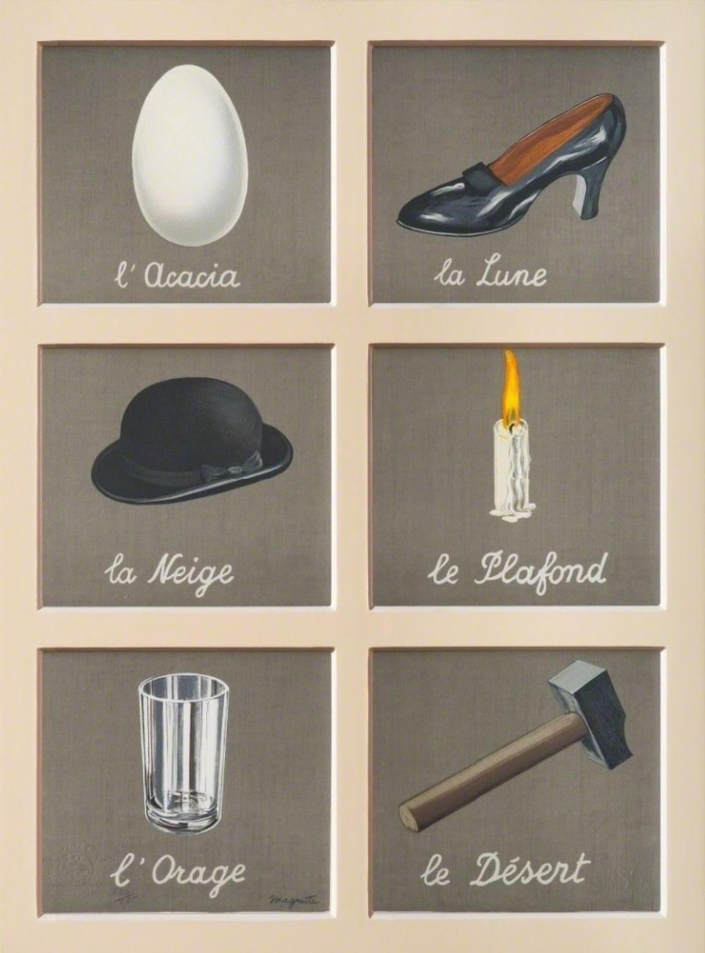 René Magritte - La Clé des Songes