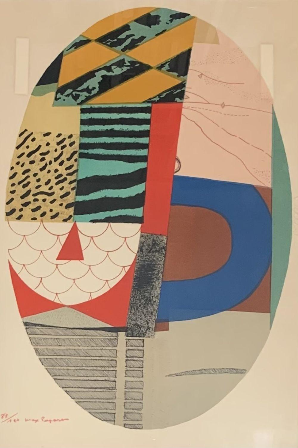 Max Papart - Composition ovale