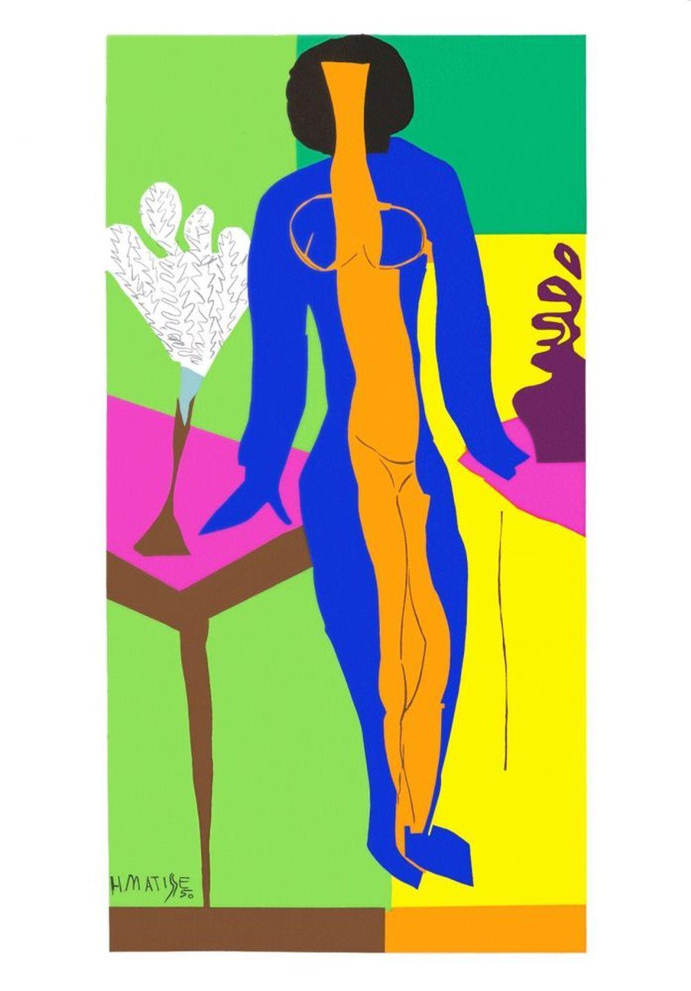 Henri Matisse - Zulma, 1950