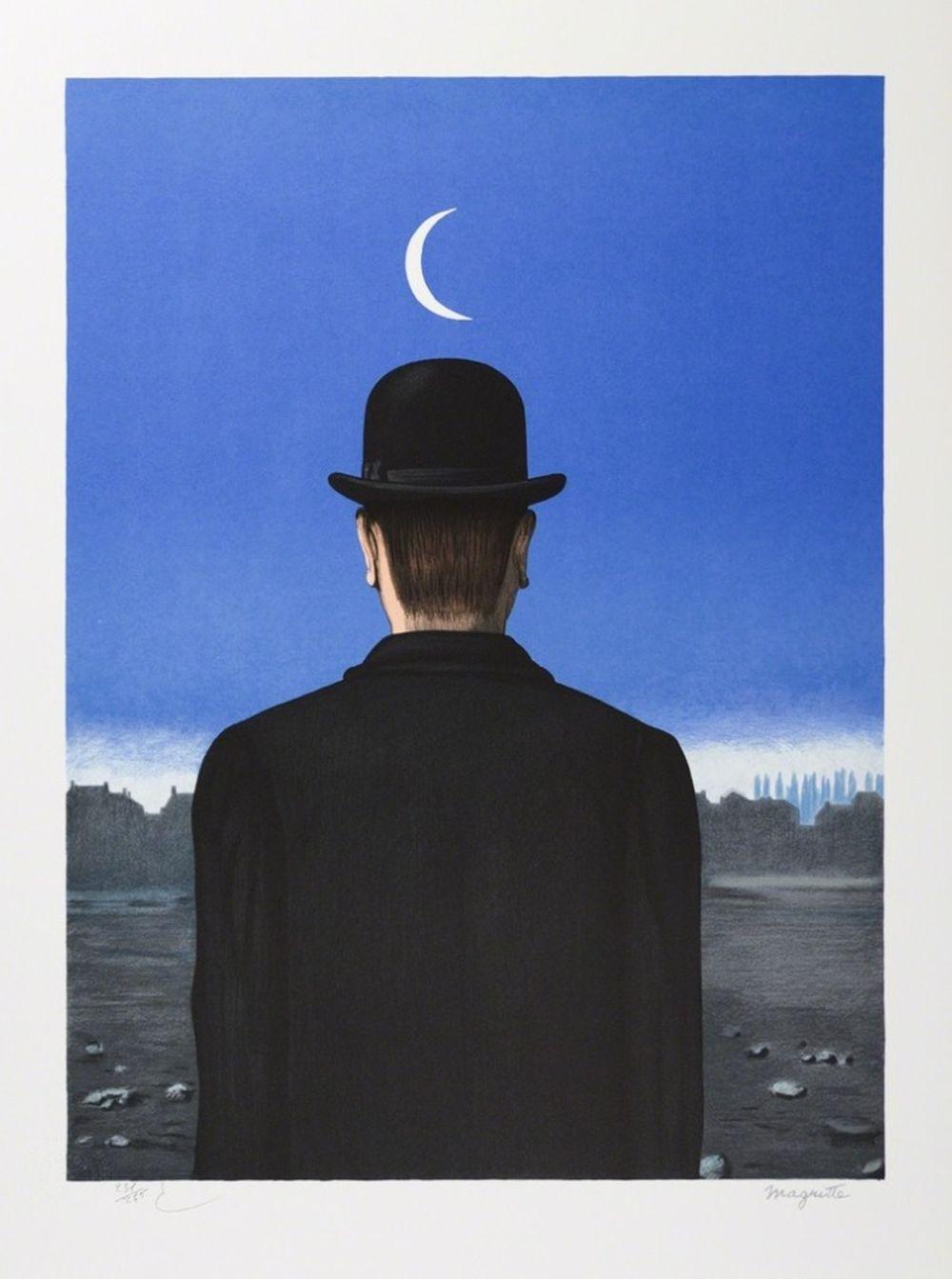 René Magritte - Le Maître d'École MM (The School Master)