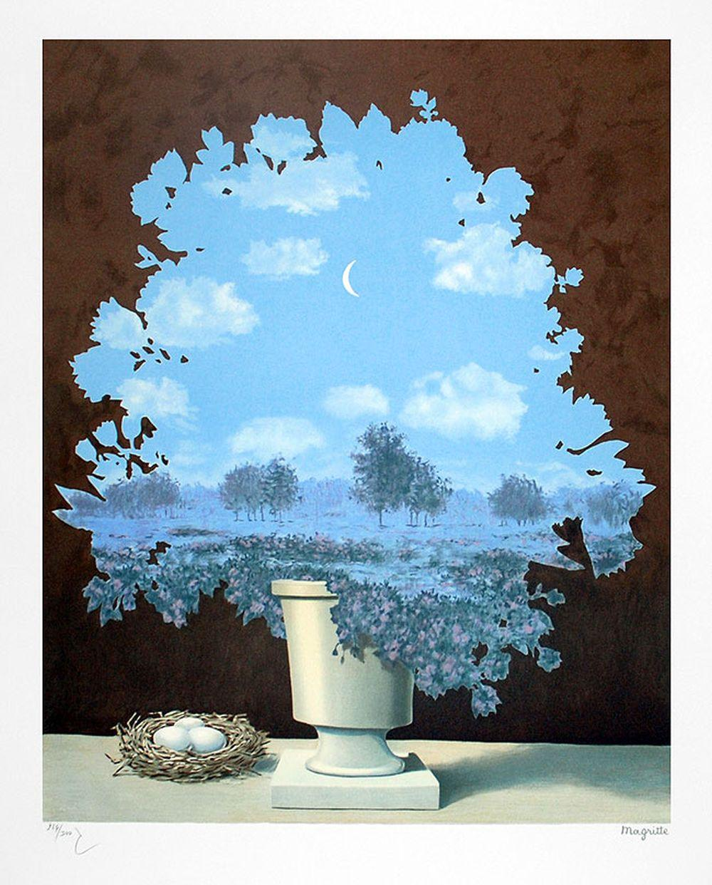 René Magritte - Le Pays des Miracles GM (The Land of Miracles)