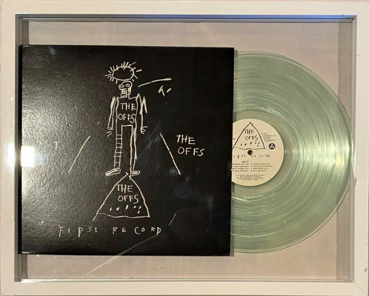 Jean-Michel Basquiat - The Off's First Record, 1984