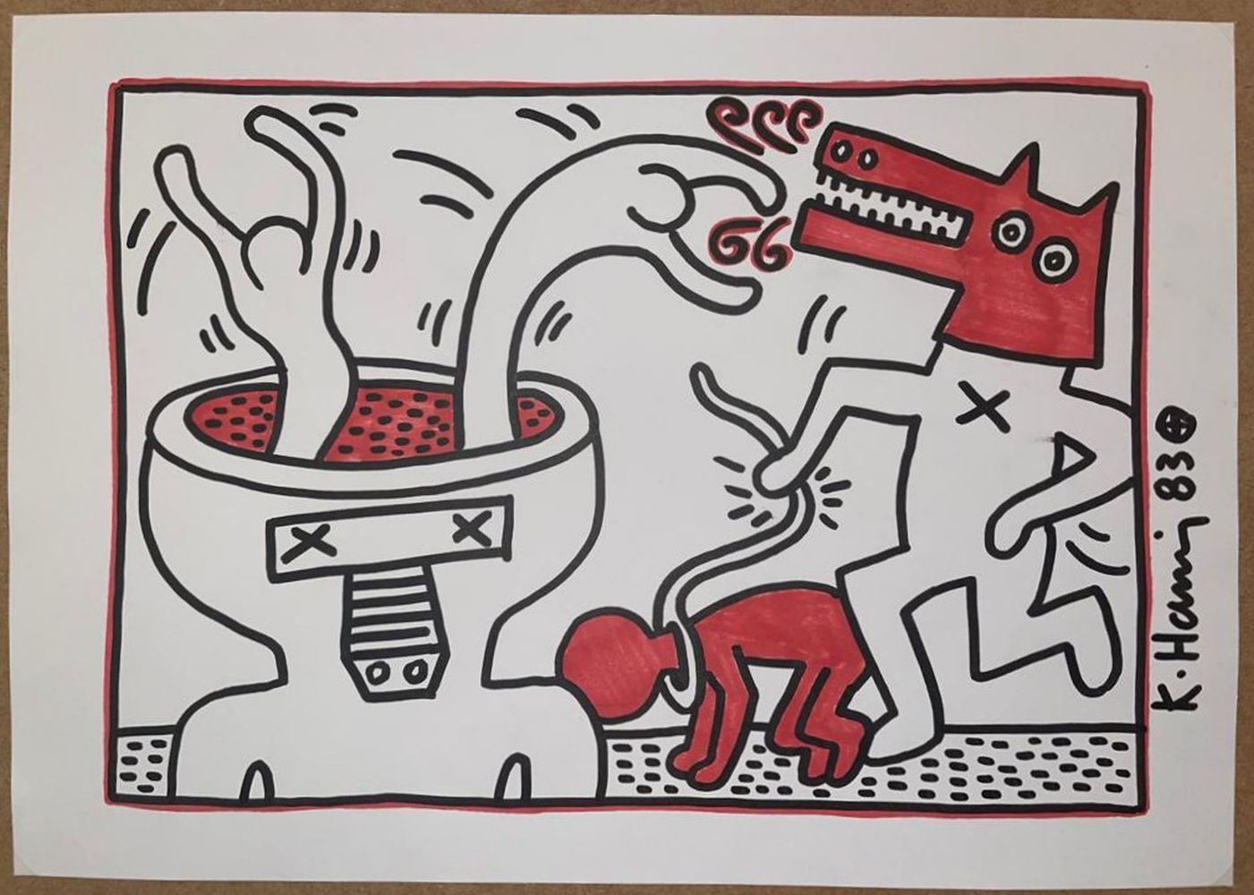 Keith Haring - Untitled, 1983