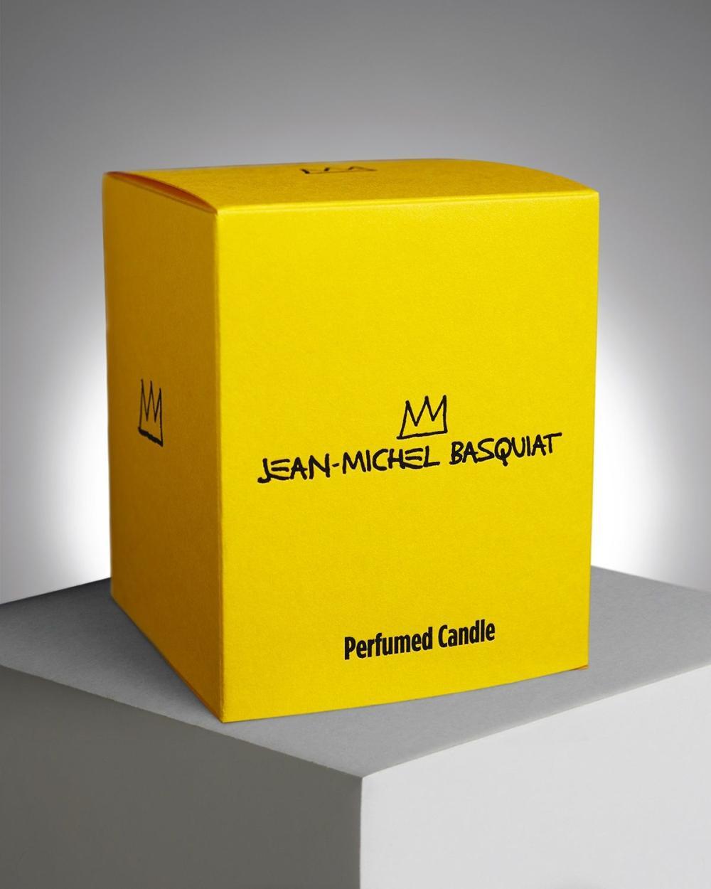 Jean-Michel Basquiat (after) - Versus Perfumed Candle