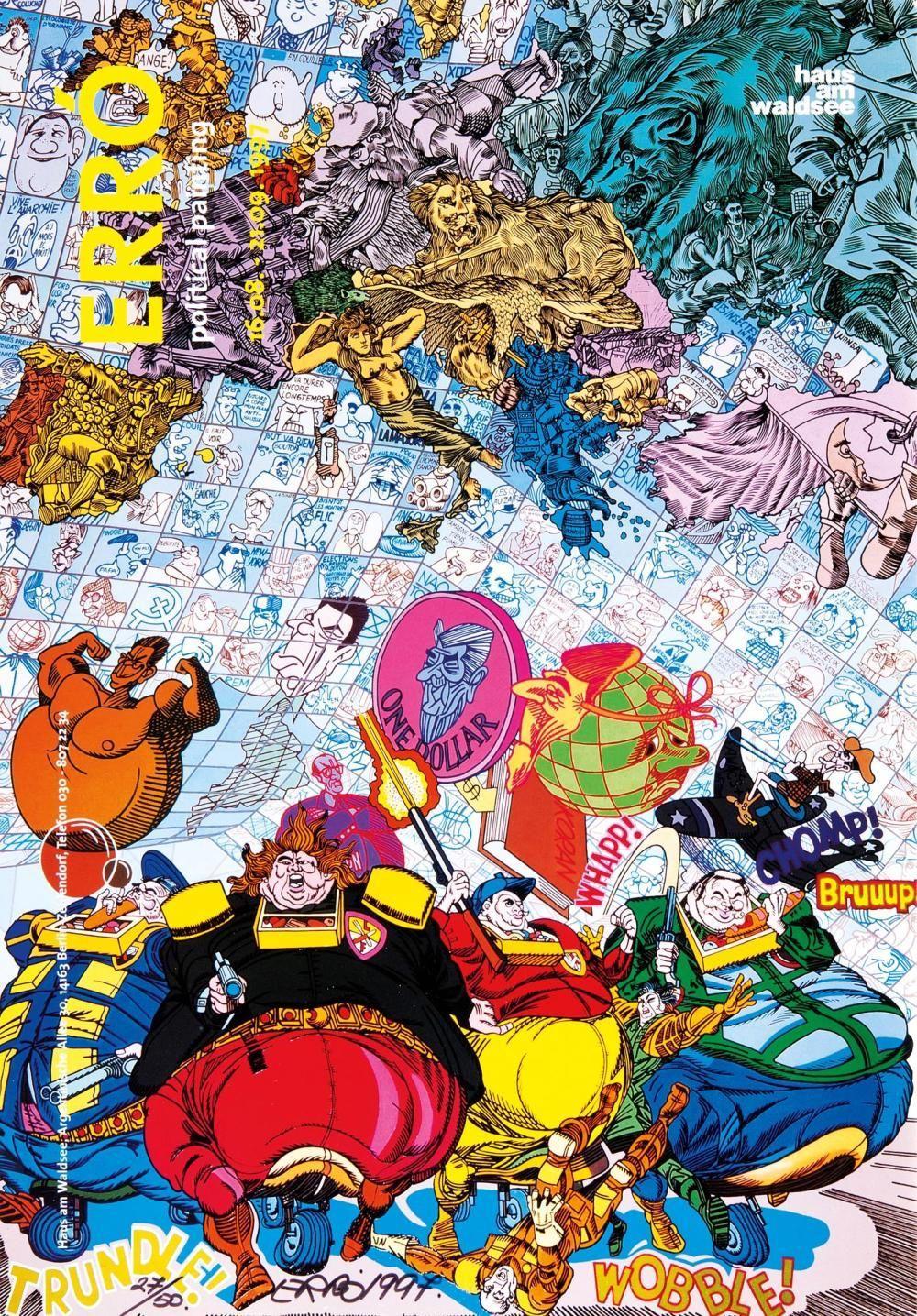 Erró - Political Painting, 1997