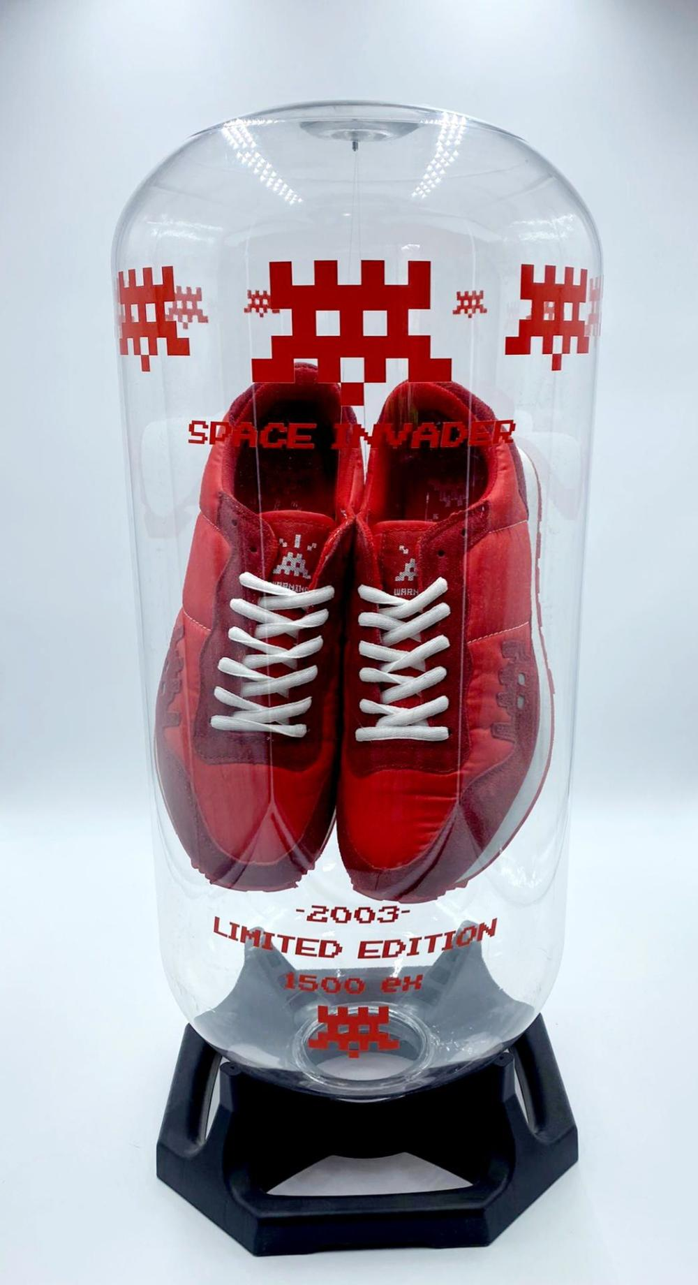Invader - Space Invader (Red), 2003