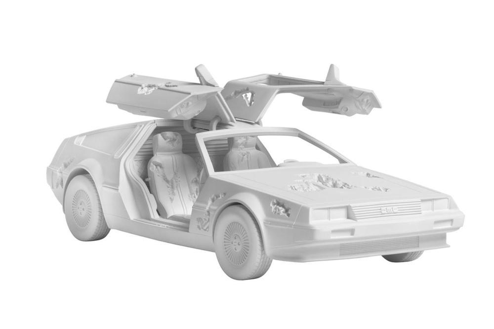 Daniel Arsham - Eroded DeLorean, 2021