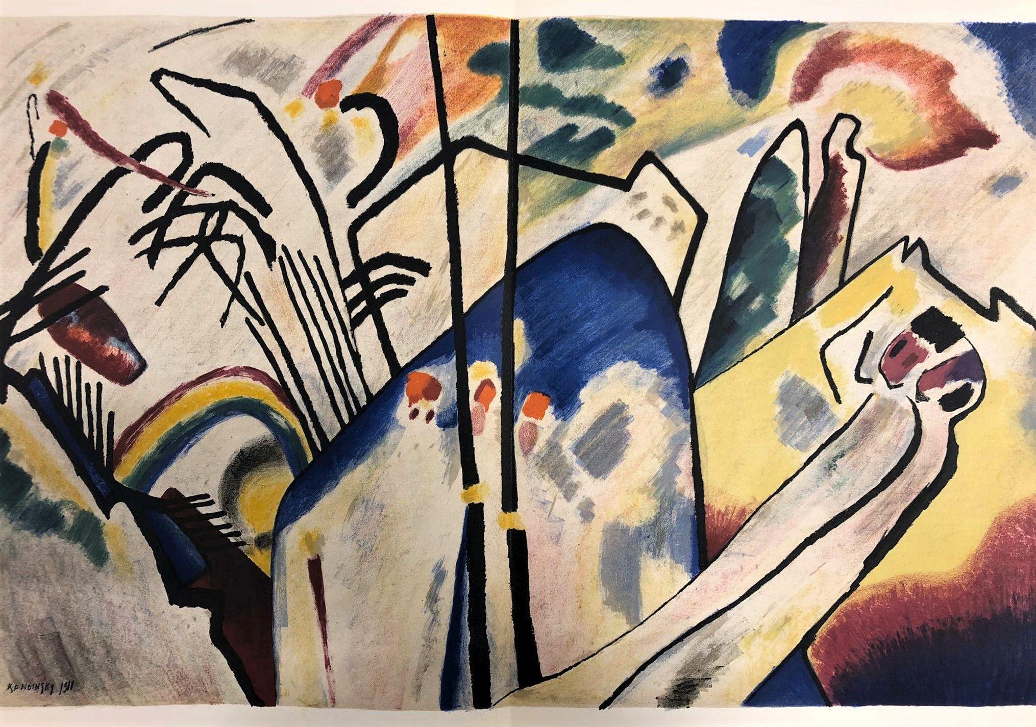 Improvisation 19, 1911 - Wassily Kandinsky - WikiArt.org