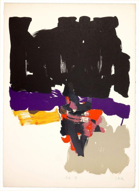 Jean Miotte - Composition, 1970