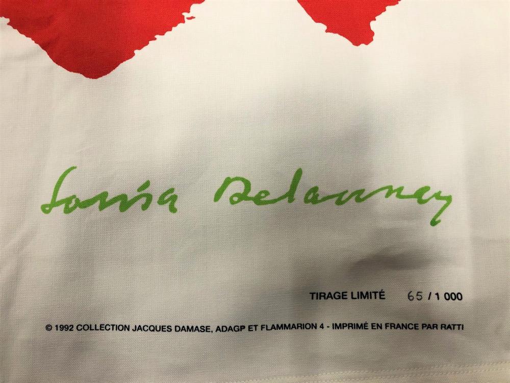 Sonia Delaunay (after) - Silk scarf, 1992