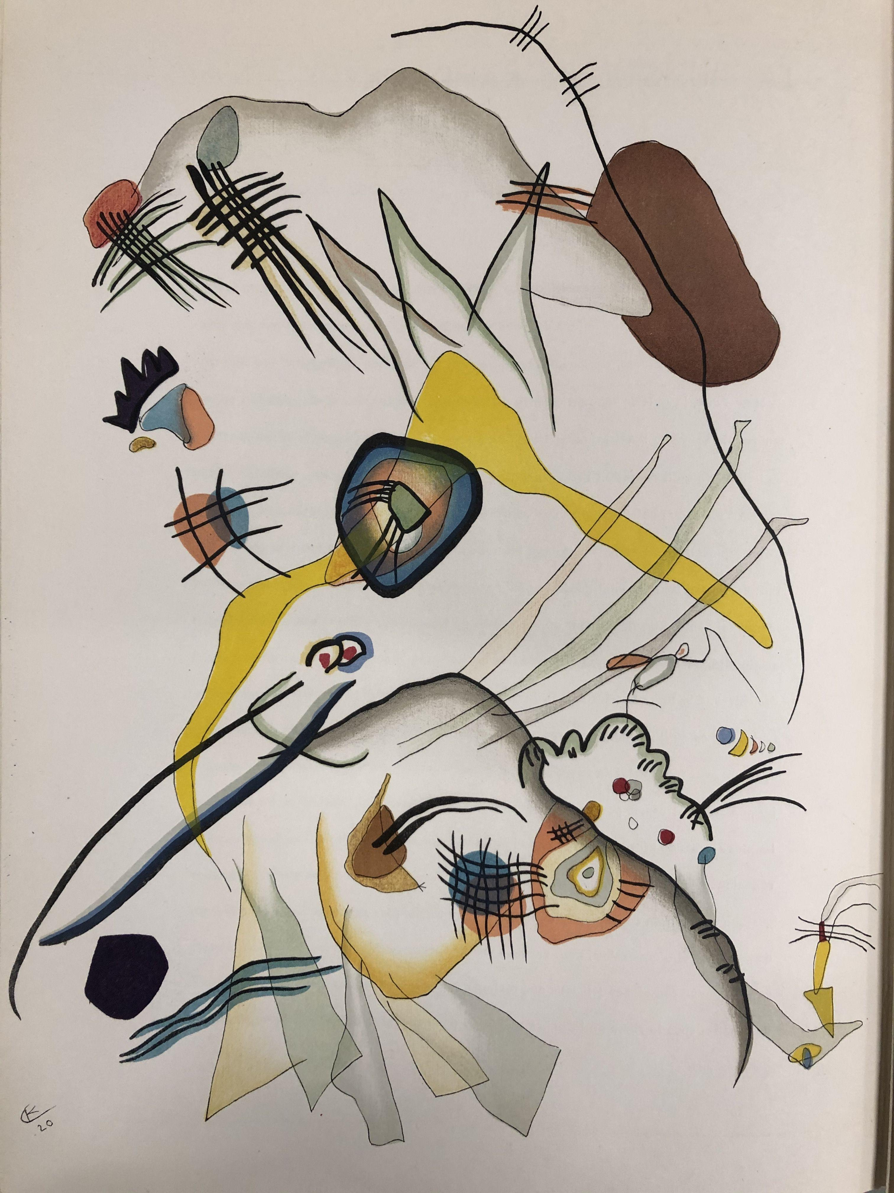 Wassily Kandinsky (after) - Composition, 1957