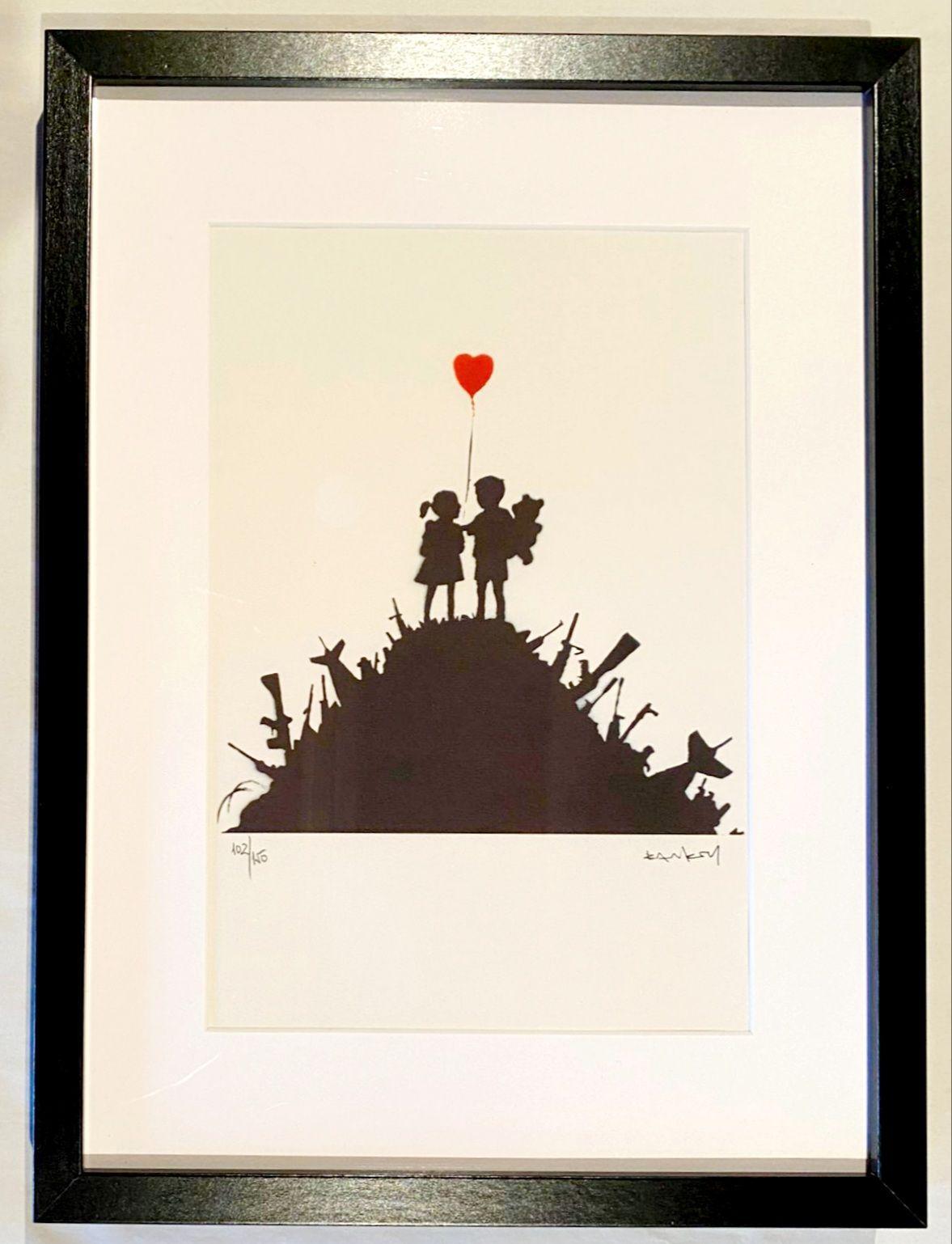 Banksy (after) - Kids on Guns