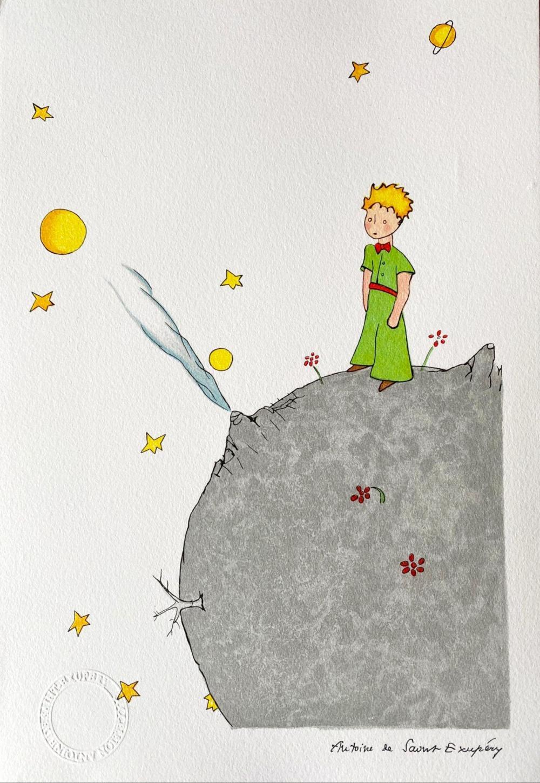 Antoine de Saint-Exupéry (after) - Le Petit Prince sur l'astéroïde B-612 (The Little Prince On Asteroid B-612)