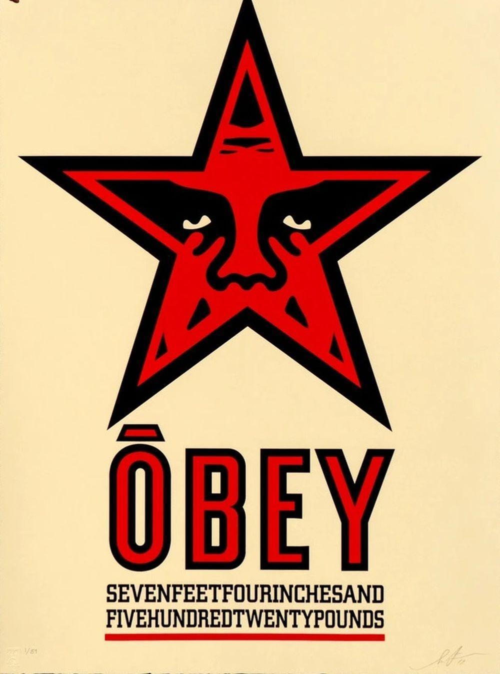 Shepard Fairey (OBEY) - Obey Star