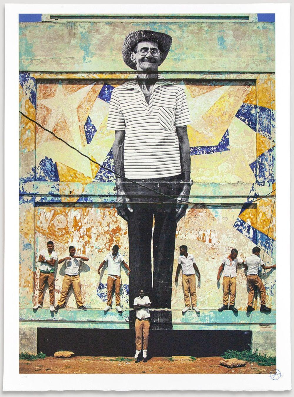 JR - The Wrinkles of The City, La Havana, Antonio Cruz Gordillo, Cuba, 2012