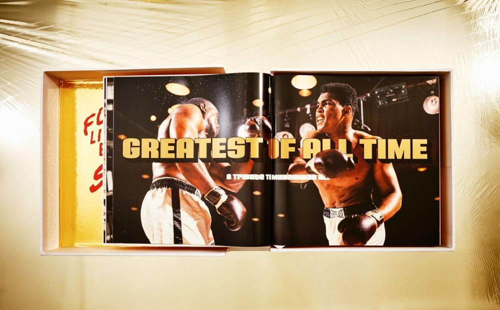 Jeff Koons - GOAT. A Tribute to Muhammad Ali (Champ's Edition)