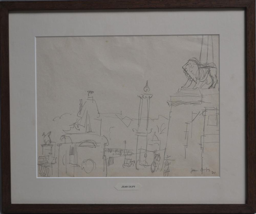 Jean Dufy - Paris, la place de la Concorde, 1924