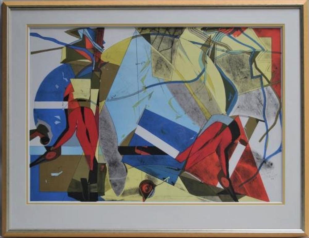Hervé Télémaque - Composition, 2000