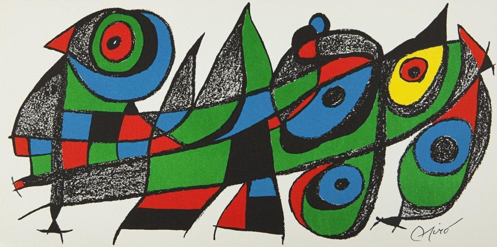 Joan Miro - Miro sculpteur, Japon, 1974