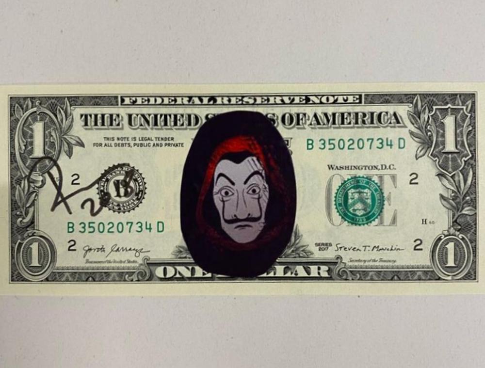 Death NYC - Money Heist One Dollar