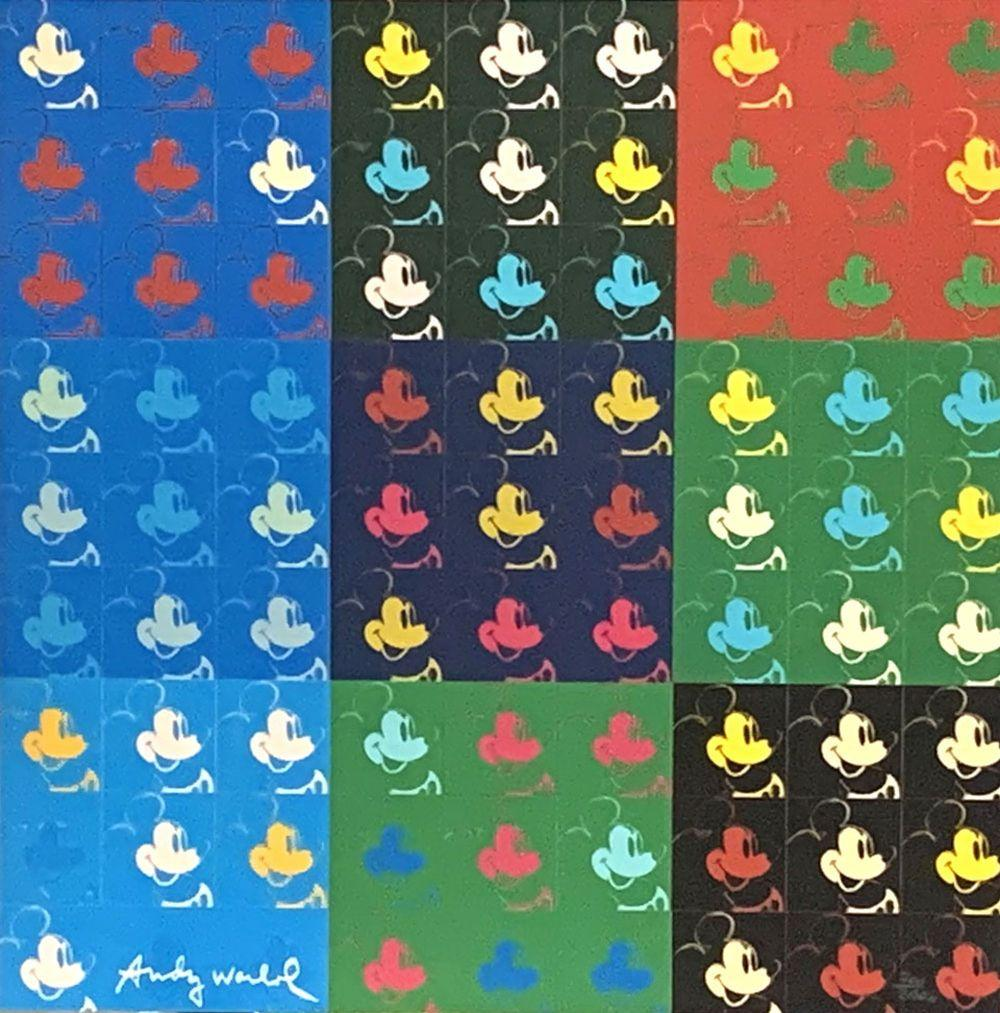 Andy Warhol - 81 x Mickey Mouse