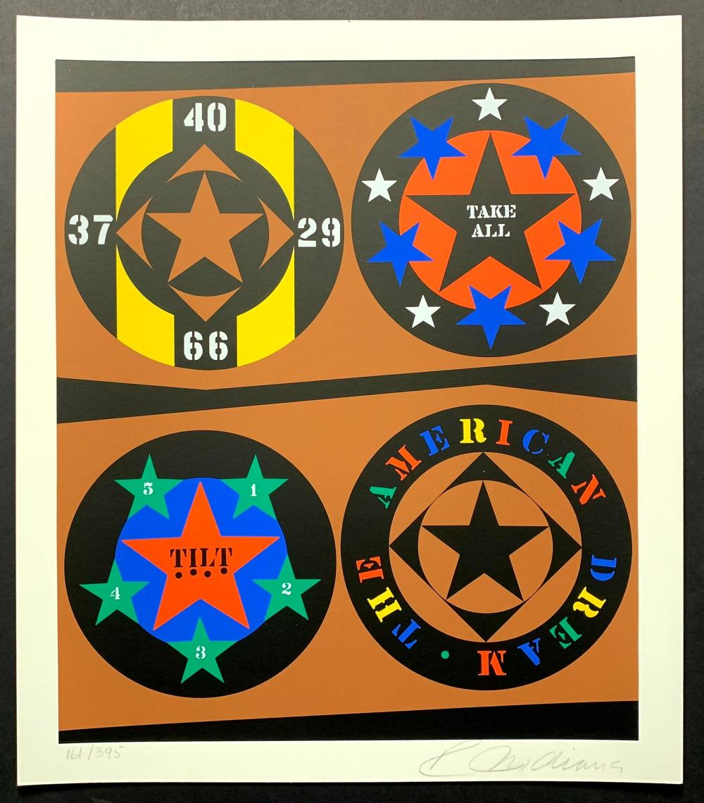 Robert Indiana - The American Dream, 1997