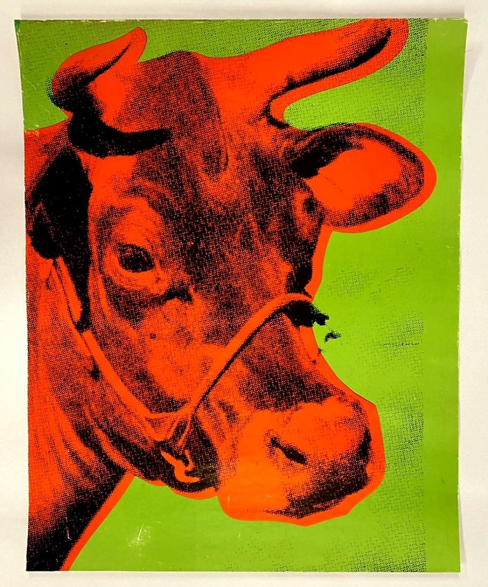 Andy Warhol - Cow, 1970