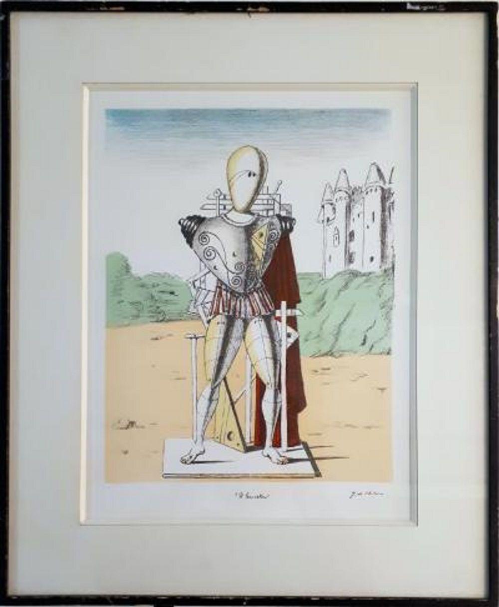 Giorgio De Chirico - Il Trovatore, 1969