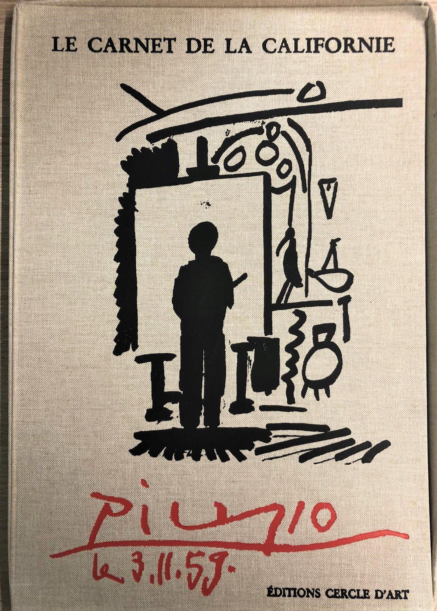Pablo Picasso (after) - Le carnet de La Californie, 1999
